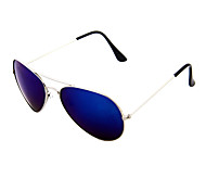 Unisex TAC Lens Blue Coating Pilot Full Rim Sunglass
