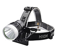 LED Flashlights/Torch / Headlamps LED 4 Mode 1000 Lumens Cree XM-L T6 18650 Camping/Hiking/Caving / Everyday Use / Cycling / Hunting -
