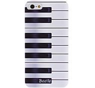 tasti di pianoforte Caso duro del modello con struttura trasparente per 5/5s iphone
