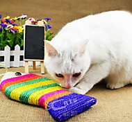 Sisal Small Flat Fish Style Cat Scratch Pad Scratcher