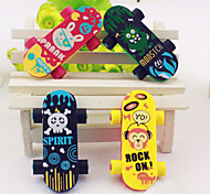 Skateboard Shaped Eraser (2 PCS)