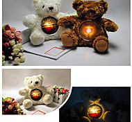 Прекрасные плюшевые мишки Shaped ночь DIY свет (Random Color)