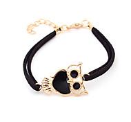 Double Row Owl Bracelet(Assorted Color)