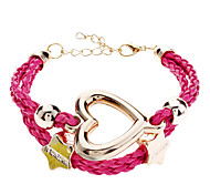Women's Pentagram Love Braided Bracelet