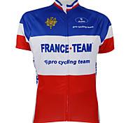 KOOPLUS® Cycling Jersey Women's / Men's / Unisex Short Sleeve BikeQuick Dry / Windproof / Waterproof Zipper / Front Zipper / Dust Proof /
