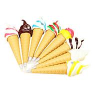 мороженое в форме черными чернилами шариковой ручкой (случайный цвет)