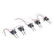 3W Controladores de potencia de 3 LED para la luz de la lámpara MR16 (12V 5-Pack)