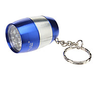 Smallsun ZY-8866 Single-Mode 6xLED Flashlight with Key Ring (80LM, 2xCR2032, Blue)