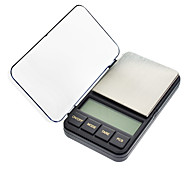 "2.4 ""LCD Portable Bijoux Digital Pocket Scale - 500g/0.01g (2 piles AAA)"
