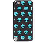 Shimmering Skulls in Line Pattern PC Hard Case for iPod touch 5