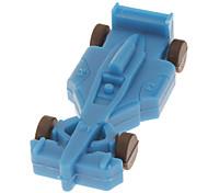4GB de goma suave Racing Car Model USB Flash Drive (color clasificado)