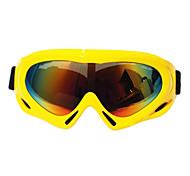 Wind Dust Protection Anti UV Colorful Lens Riding Goggles Skiing Goggles