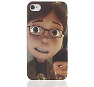 Cartoon Boy Back Case for iPhone 4/4S