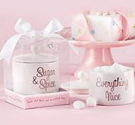 Zucchero spezie e tutto bello in ceramica Sugar Bowl Favor