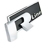 Rline Alloy Car Emblem Decals Stickers for Cars