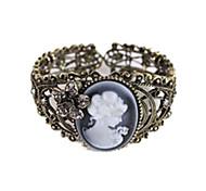 Bronze Queen Cameo Bracelet