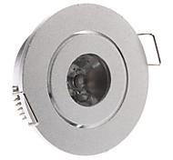 1W 1-LED de Alumínio Lâmpada Acessórios Shell