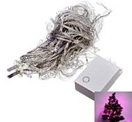 6W 100-LED Viola luce di striscia del LED 10M per il Natale di Halloween della decorazione di festival (110V)