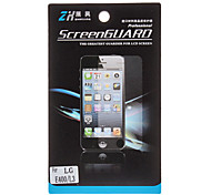 Elegant HD Screen Protector with Cleaning Cloth for LG E400(Optimus L3)