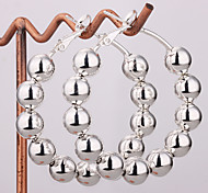 Fashion Silver Beads Earrings