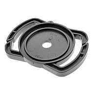 Universal 43 milímetros / 52 milímetros / 55 milímetros Lens Cap Titular Buckle para SLR Camera - Preto