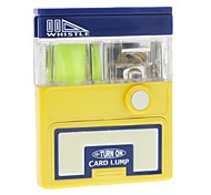 Reflector Whistle and LED Flashlight Card Lump for Outdoors