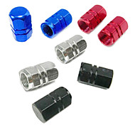 Bike Valve Caps Cycling/Bike Red / Black / Dark Blue / Silvery Aluminium Alloy