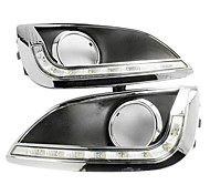 High Power 6 LED White Light Daytime Running Lamp