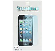 New LCD Clear Screen Protector Guard For HTC EVO 4G