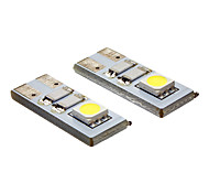 DAIWL t10 0.4W 2x5050smd 20-80lm 6000k kühlen weißes Licht LED Spot Lampe (12V)