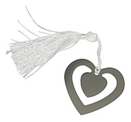 Corações Duplo Padrão Metal Bookmark