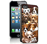 Dogs Pattern 3D Effect Case for iPhone5