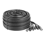 50ft 15m Audio Video Power CCTV Cable for Security Surveillance Camera