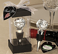 Crystal Ball Design Wine Stoppers