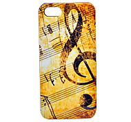 musicale fondello modello nota abs per 5/5s iphone