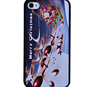 Running Deer Printing Back Case for iPhone 4/4S