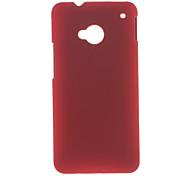 Soft-Silikon-Gummi-Schutzhülle für HTC One M7 (Optional Farben)