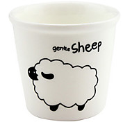 Sheep, de 12 de Zodíaco chinês Ceramic Cup