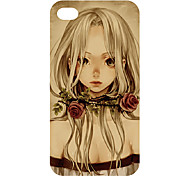New Technology Hot sell colorful 3D carving cell phone cover case for iphone4/4s 23