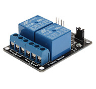 2-Channel Relay Shield Module for (For Arduino) (Works with Official (For Arduino) Boards)