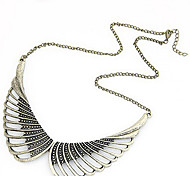 Vintage Wings Short Necklace