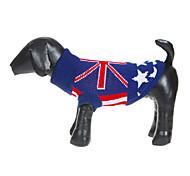 Bandeira britânica estilo camisola padrão para Animais de estimação Cães (tamanhos variados)