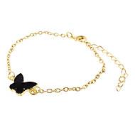 Butterfly Enamel Metal Bracelet