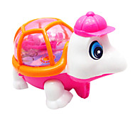 Stem Winding up Running light-up Tortoise Pink&Orange