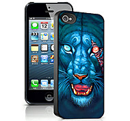 Beast Pattern 3D Effect Case for iPhone5