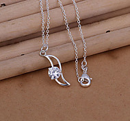 Spindly Pendant with Rhinestone  (Pendant Only)