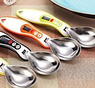 Medición Cuchara balanza de cocina Cuchara medidora digital (color al azar)