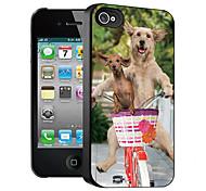 Hundemuster 3D-Effekt für iphone4/4s