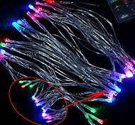 Luce della stringa di 30-LED 3M di Natale della decorazione di festa RGB LED