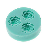 3D Mini 3-Flower Silicone Mold